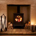Relax in front of the wood-burning stove