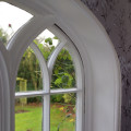 Gothic arch windows